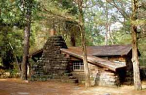 Cabins at Bastrop State Park