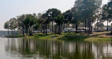 Campground at Barefoot Bay Marina