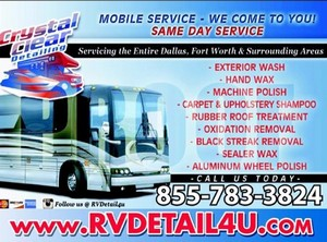 Crystal Clear RV & Boat Mobile Detailing
