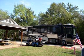 camping at Tommy Alverson Family Gathering