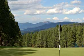 View from Angel Fire Golf Course