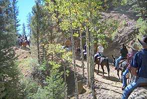 Riding the trials in Red River
