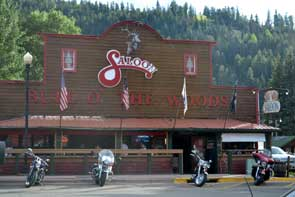 Saloon in Red River