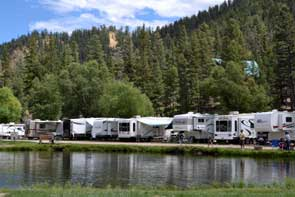 Campground in Red River