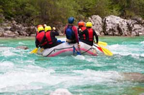 River rafting on the Rio Grande River