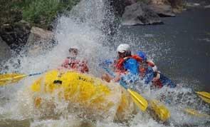 Rafting the Race Course in New Mexico