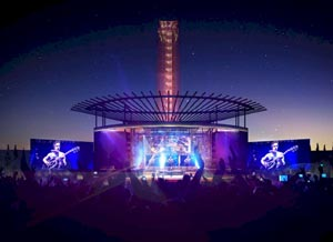 Outdoor Music Venues And Stages In Texas