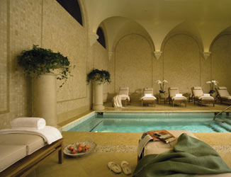 Womens spa at Pelican Hill