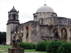 One of San Antionio's missions
