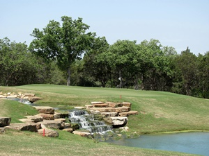 One of the par 3's at Wolfdancer Golf Club