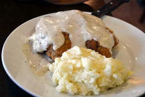 Chicken Fried Steak at Hideout Golf Club