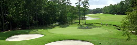 Panter Trail Golf Course in the Woodlands