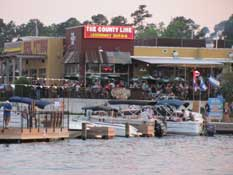County Line BBQ on Lake Conroe