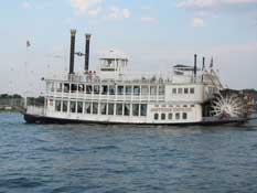 Empress Paddleboat on Lake Conroe