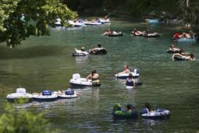 Tubing the Comal River