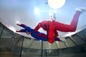 Flying to the top at iFly