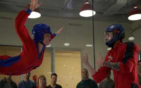 iFly indoor skydiving in Austin