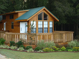 Cabin at Mill Creek RV Resort