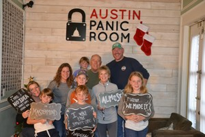 Our fearless Team at austin panic room
