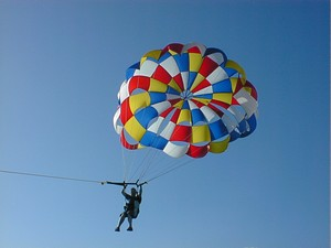 Parasailing in South Padre Island