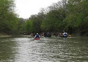 Kayaking the Trinity River