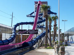 Slide at Schlitterbaun in Galveston