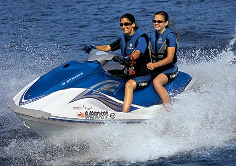 Take the kids on a waverunner