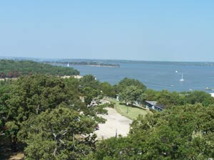 View of Lake Texoma from Tanglewood Resort