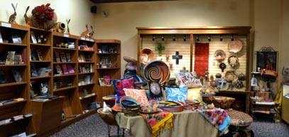 Gift shop at Museum of South Texas History