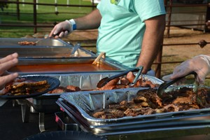 BBQ at Cherokee Creek Music Festival