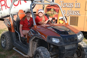 ATVs were everywhere at Crude Fest