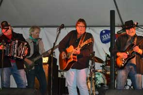 Jamming with Larry Joe in Red River