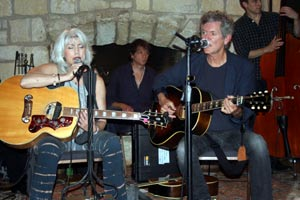 Emmylous Harris  and Rodney Crowell