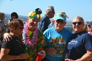 Music fans at Lone Star Luau