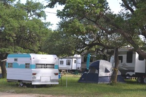 Camping at Old Settlers Music Festival