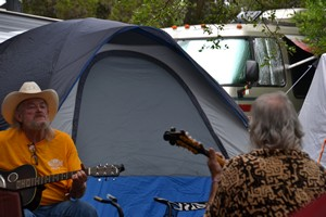 Pickin' and Playin' at Old Settler's Music Festival