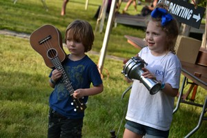 Kids at Old Settler's Music Festival
