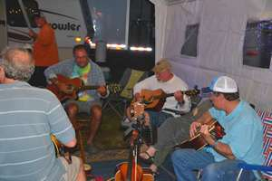 Picking in the campground