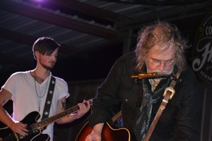 Ray Wylie Hubbard and his son