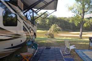 Camping on the Brazos