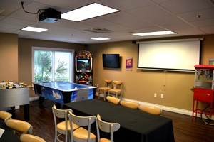 Game room at Holiday Inn Club Vacations Galveston Beach  Resort