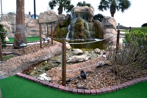 minature golf at Holiday Inn Club Vacations Galveston Seaside Resort
