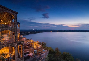 The Oasis overlooking Lake Travis