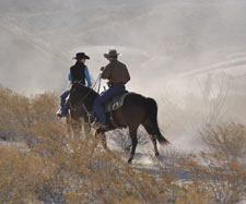 Horseback riding at Lajitas Golf Resort & Spa