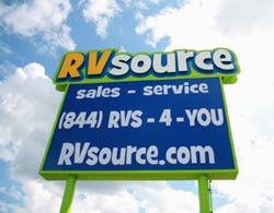 RV Source RV dealer in Bryan Texas