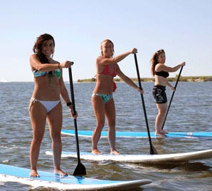 Paddleboard rental on South Padre Island