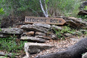 Trail to Medicine Rock