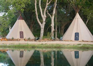 Geronimo Creek Tipi