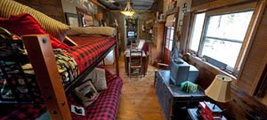 Country Woods Inn Caboose rental