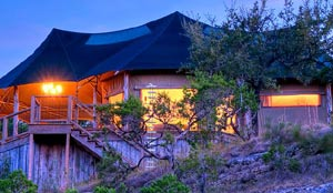 Sinya Safari Tent lodging